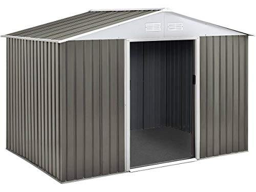 Habitat et Jardin - Caseta de metal para jardín, (5,29 m²)