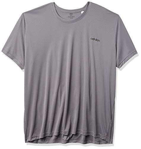 adidas Herren T-Shirt D2m Clima Uni XL Grau/Schwarz