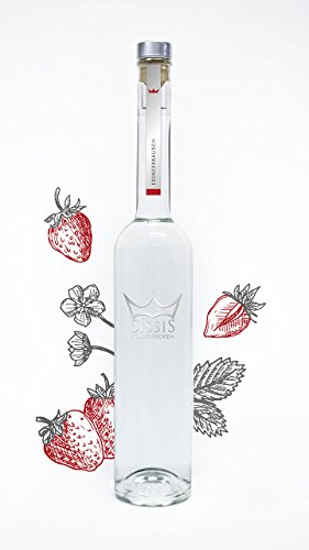 SissiS Erdbeerrausch 34% Vol, 200 ml | besonders mild & aromatisch | bester Erdbeerbrand | pur oder als Longdrink genießbar