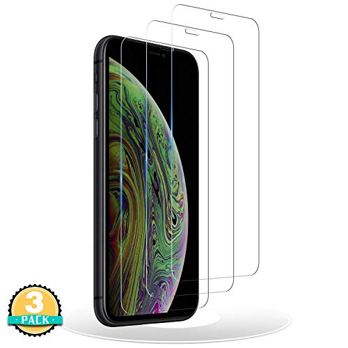 RIIMUHIR Panzerglas Schutzfolie Kompatibel mit iPhone 11/XR,[3 Stück] iPhone 11 Displayschutzfolie,Anti-Kratzer, Anti-Öl, Ohne Bläschen, HD-Klar Panzerglasfolie für iPhone 11