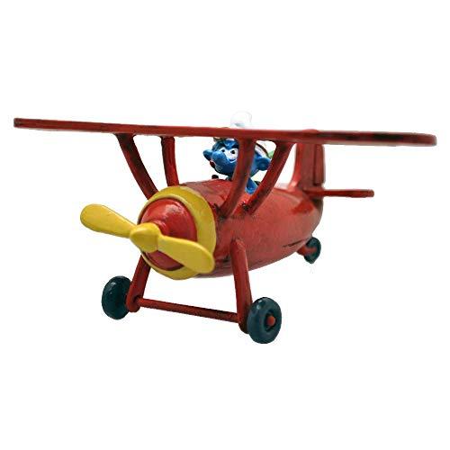 PIXI Figura de colección Pitufos, el avión Aeropitufo 6460 (2020)