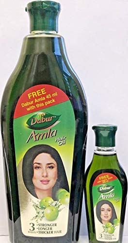 Dabur Amla Hair Oil for Stronger, L…