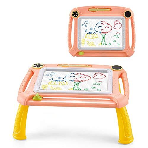 Pizarras Magica Infantil Colorido con Pluma Grande Color Magnético Doodle Sketch Pad para Niños Infantiles,B