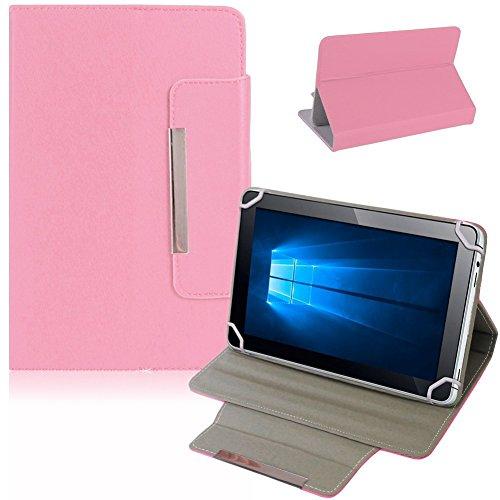 NAUC Tablet Tasche Hülle Schutzhülle Telekom Puls Hülle Schutz Cover Bag, Farben:Rosa