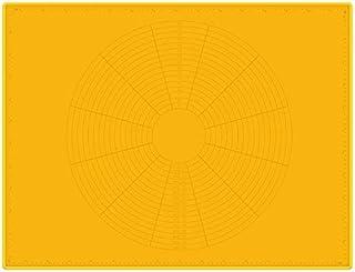 Dcolor Tapis de Cuisson AntiadhéSifs en Silicone Feuille Support de Fabricant de Pate à Pizza Patisserie Gadgets de Cuisin...