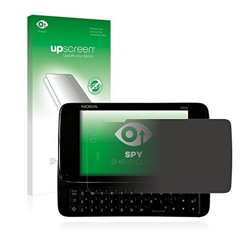 upscreen Pellicola Privacy Compatibile con Nokia n900 Anti-Spy