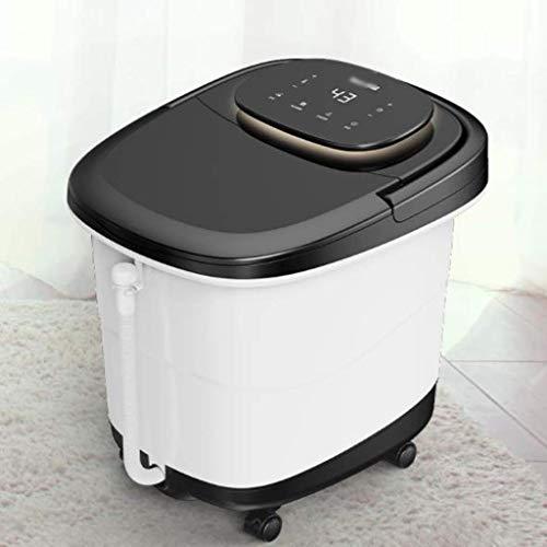 Elektrische voetbad barrel volledig automatische foot Spa massage verwarming tempereerapparaten huis voet-therapie-machine hoge diepe bucket FootSpa (kleur: B) B