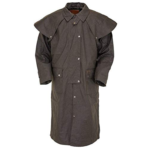 Outback Trading Low Rider Duster, Color: Brown, Size: 4XL (2042-BRN-4XL)