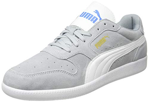 PUMA Unisex-Erwachsene Icra Trainer Sd Sneaker, Grau (High Rise White-Palace Blue Team Gold 46), 47 EU