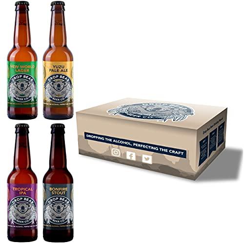 Drop Bear Beer, Alcohol-Free Beer, Award Winning Non Alcoholic Craft Beer, Vegan, Gluten-Free, Low...