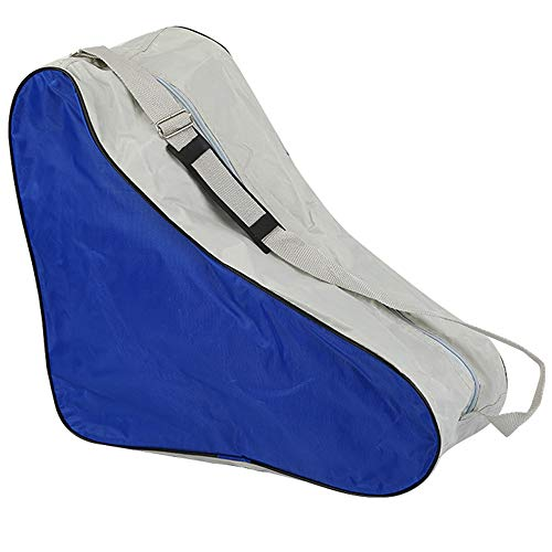 LINVINC Bolsa Patines - Durable Skate Bag Bolsa Patines en Linea y Bolsa Patines de Linea Unisex Adulto, Azul, 42 * 20 * 39cm