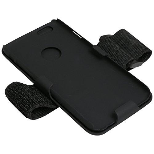 Ultrasport - Funda Brazalete para iPhone 6, Negro