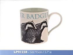 Badger fine china mug