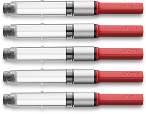 Lamy 1324763 - Konverter Z28 für Füllfederhalter (vorher Z24), 5er-Pack