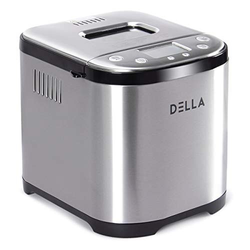 Check Out This Stainless Steel Bread Machine,710W 2LB 15-in-1 Programmable Bread Maker Digital Touch...