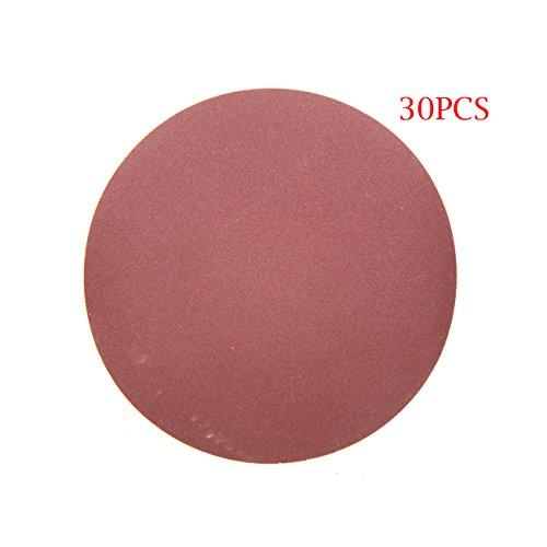 Jrl 10,2 cm 100 mm 240 Grit Sander disque ponçage polissage Pad disque de papier abrasif