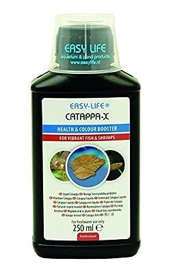 Easy Life Catappa-X Traitement de l'Eau pour Aquariophilie 250 ml