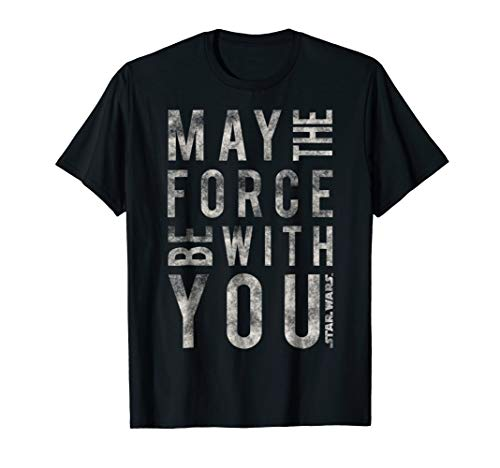 Star Wars May The Force Be With You Scrambled T-Shirt