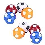 Bnineteenteam 8Pcs Mini Table Football Balls Foosball Replacement Balls 36mm Tabletop Game Balls