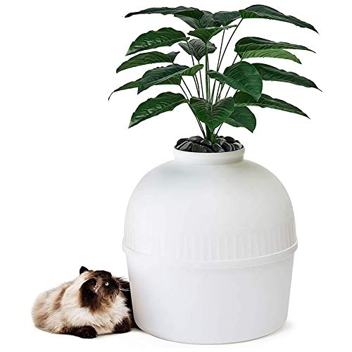 ZFYM Secret Cat Litter Box High-Level Invisible Cat Litter Box Cat Litter Closed Cat Box Furniture Suitable for Large Cats