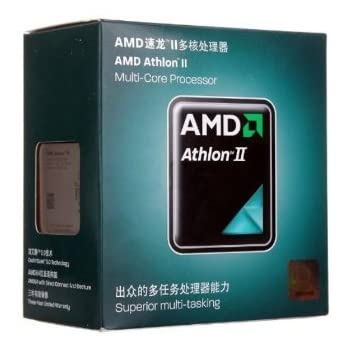 AMD Athlon II X2 270 Regor 3.4 GHz 2x1 MB L2 Cache Socket AM3 65W Dual-Core Desktop Processor - Retail ADX270OCGMBOX