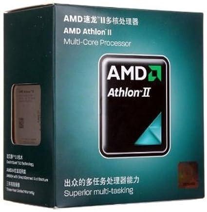 AMD Athlon II X2 270 Regor 3.4 GHz 2x1 MB L2 Cache Socket AM3 65W Dual-Core Desktop Processor - Retail ADX270OCGMBOX