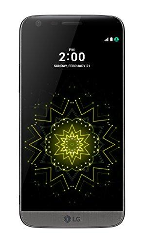 LG G5 H850 32GB (GSM Only, No CDMA) Factory Unlocked 4G LTE Smartphone (Titan Grey) - International Version with No Warranty