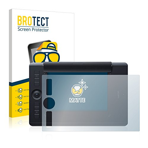 BROTECT Protector Pantalla Anti-Reflejos Compatible con Wacom Intuos Pro Paper M Pelicula Mate Anti-Huellas