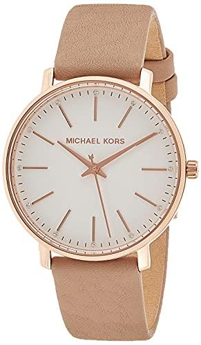 Michael Kors Reloj Analogico para Mujer de Cuarzo con Correa en Piel MK2748