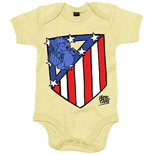 Body bebé Atlético de Madrid nuevo escudo - Rojo, 6-12 meses