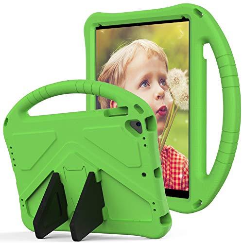 SZCINSEN Funda para iPad Air 2, iPad Pro 9.7, para niños Eva a prueba de golpes, ligera, con asa grande, resistente funda protectora para iPad 6 (color verde)