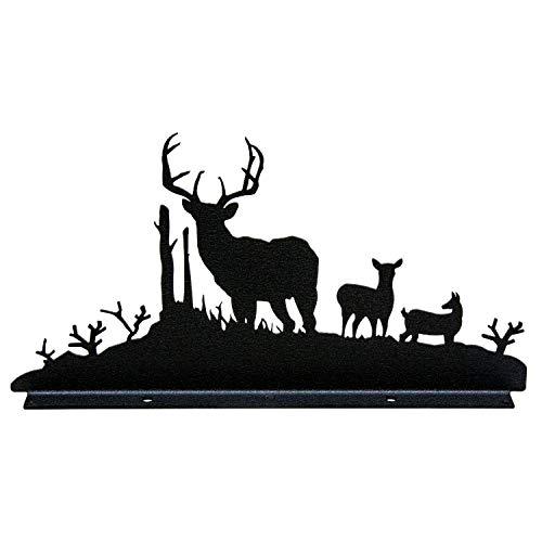 Innovative Fabricators, Inc. Buck, Doe & Deer Mailbox Topper