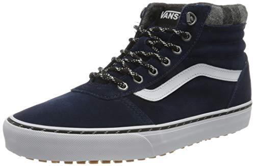 Vans Herren Ward Hi MTE Sneaker, Outdoor-Kleid Blues Schwarz, 44 EU