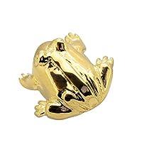 K18WG K18YG ピンブローチ カエル タックピン フロッグ 蛙 27131
