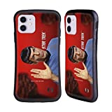 Head Case Designs Officially Licensed Star Trek Vulcan Salute Spock Hybrid Case Compatible with Apple iPhone 11
