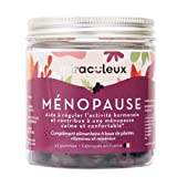 Complément Alimentaire Ménopause - Gummies Menopause - Arôme Naturel et Végan - 42 Gommes de Fruit - Bouffées de Chaleur Ménopause - Goût Pomme et Cassis - Les Miraculeux