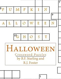 Halloween: Crossword Puzzles by B.F. Starling (2015-10-15)