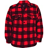Photo de *Big Bill* - Chemise de Laine 4 Poches Homme - 462 REG - L - Rouge - L, Plaid Rouge