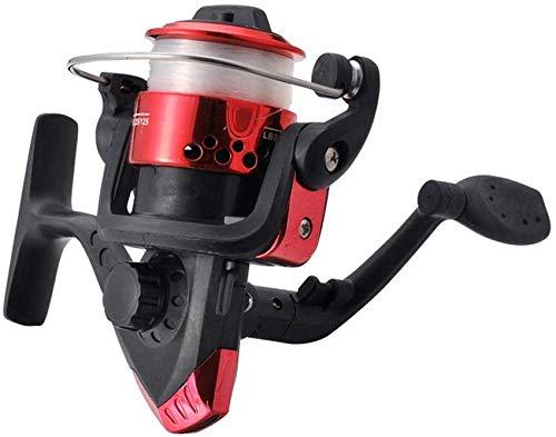 GJJSZ Carrete de Pesca con Carrete de Pesca Multicolor, Opcional, Carrete de Pesca rápida (Color: Verde, tamaño: 200), Rojo, 200