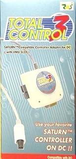 Total Control 3 - Sega Saturn controller/racing wheel connector for Dreamcast
