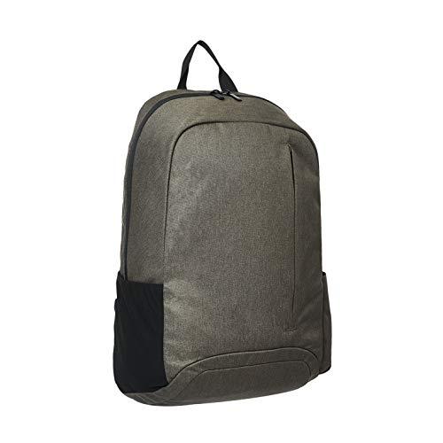 Amazon Basics - Mochila para portátiles de hasta 38 cm, verde