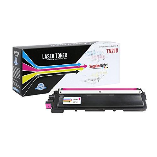 SuppliesOutlet TN210M Toner Cartridge - Magenta - Compatible - For DCP-9010CN, HL-3040CN, HL-3045CN, HL-3070CW, HL-3075CW, MFC-9010CN, MFC-9120CN, MFC-9125CN, MFC-9320CN, MFC-9320CW, MFC-9325CW