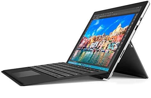 Microsoft Surface Pro 4 12.3-Inch Tablet (Silver) - (Intel Core i5-6300U 2.4 GHz, 8 GB RAM, 256 GB HDD, Windows 10) with Keyboard (Renewed)