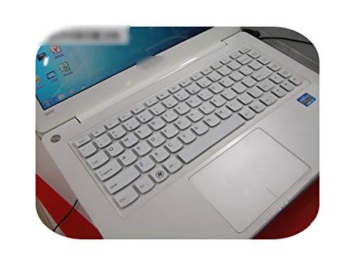 Funda protectora teclado de silicona de 13,3 pulgadas para Lenovo Yoga 900 YOGA4 Pro YOGA900-13ISK Yoga 4 Pro 3 IdeaPad 700S-White