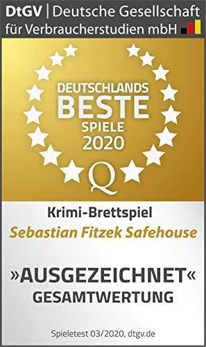 moses. Sebastian Fitzek SafeHouse – Das Spiel | Safe House Gesellschaftsspiel von Marco Teubner - 6