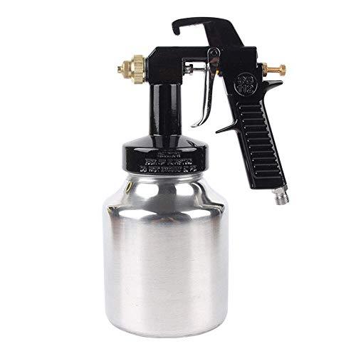 DX Spray Gun Gravity Feed Air SG112 met 1Mm Pure Koper Mondstuk, 1L Metalen Watering Kan Geschikt voor Fijne Spuiten, Nozzlediameter,1.0