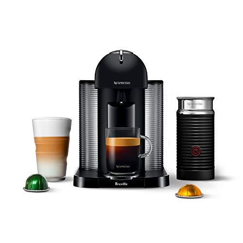 Nespresso VertuoLine with Aeroccino 3 by Breville, Black Matte