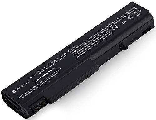 Globalsmart Batería para portátil Alta Capacidad para HP EliteBook 8440p 6 Celdas Negro