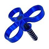 SunniMix Abrazadera de Llave de Bisagra Mejorada para Bicicletas Plegables para Bicicletas Brompton - Azul