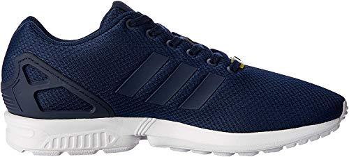 adidas ZX Flux Unisex-Erwachsene Laufschuhe, Blau (New Navy/New Navy/Running White), 44 2/3 EU
